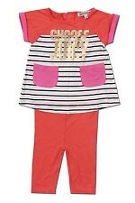 "Juicy Couture Kids Baby Girl Knit Set ""Choose Juicy"" Sizes 3-6 to 18-24 Months"