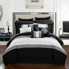 Keira 16-Piece Bed In a Bag King Comforter Set by Chic Home