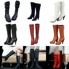 """1/6 Scale Long Boots High Heel Shoes for 12"""" CY CG Female Hot Toys Action Figure"""