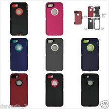 Apple iPhone 7 Plus Defender Rugged Case w/ Belt Clip &Screen Protector