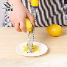 Zester Fruit Lemon Peeler Cheese Grater Stainless Kitchen Steel Tools Chocolate