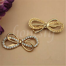 1pc Bowknot Bow Shoe Charms Buckle Clip Women Shoe Decor Accessories Removable