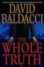 The Whole Truth by David Baldacci (2008, Hardcover)