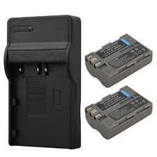 For Nikon D300 D300s D700 D200 D50 D70s D100 2x 2200mAh EN-EL3E Battery +Charger