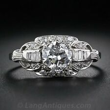 2.3CT White Topaz 925 Silver Women Jewelry Ring Wedding Engagement Ring Size6-10