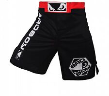 Boxing Shorts Match Fitness Training Black Blue Loose Breathable Cotton Mens