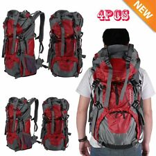 70L Waterproof Outdoor Camping Travel Hiking Bag Internal Frame Backpack Pack EW