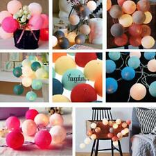 New 20LED Cotton Ball String Light Holiday Wedding Party Christmas HYFG