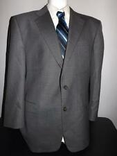 HICKEY FREEMAN Sz 44R DARK GRAY ALL WOOL BLAZER