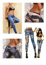 New Womens Fashion Leggings Jeggings 16 Great Designs to Choose From!!! UK Stock