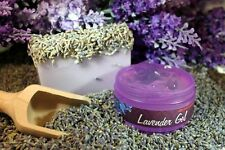 AROMATHERAPY LAVENDER SET -  LAVENDER GEL & SOAP WITH DRIED FLOWER
