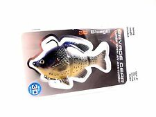 """SAVAGE GEAR 4"""" BLUEGILL SWIMBAIT SLOW SINK BASS FISHING LURE SELECT COLOR"""