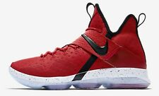 Nike ZOOM LEBRON XIV MEN'S BASKETBALL SHOES,RED/BLACK/WHITE- US 10,10.5,11 Or 12
