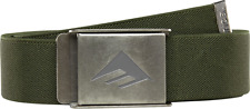 Emerica Kemper Stretch Green Belt One Size Fits All MSRP $16
