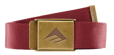 Emerica Kemper Oxblood Belt One Size Fits All MSRP $16