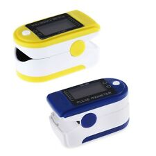 Digital Fingertip Pulse Oximeter Blood Oxygen Health Monitor Heart Rate Tester