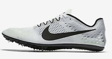 Nike ZOOM VICTORY-3 MEN'S RACING SPIKE SHOES,WHITE/BLACK- US 10,10.5, 11 Or 11.5