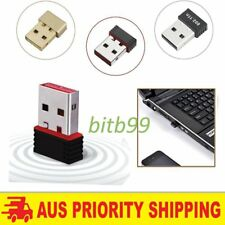 150Mbps 150M Mini USB WiFi Wireless Adapter Network LAN Card 802.11n/g/b Lot BU