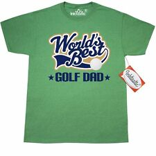 Inktastic Worlds Best Golf Dad T-Shirt Golfing Golfer Fathers Day Hobbies Sports