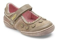 BEEKO Kyleigh Girls Size 10.5 US (Toddlers) Brown Leather Mary Janes, NEW,  $68