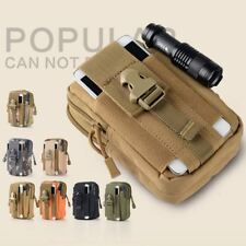 Military Tactical Wallet Waist Phone Case For iPhone 6 6s 7 Plus 5 5s 4 4s