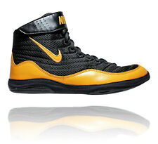 NIKE INFLICT 3 MENS WRESTLING SHOES BLACK / UNIVERSITY GOLD UNIVERSITY GOLD