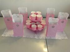 Cupcake Stand 2 tier cardboard cake stands Pick Your Colour