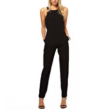 Summer Overalls Casual Sleeveless Rompers Women Jumpsuit Fashion Trend Gift Hot