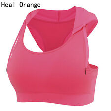 Running Hooded Vest Women Padded Sports Bra Corsets Gym Sports Fitness Tank Top