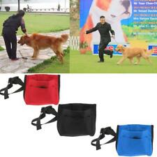 Pet Dog Travel Treat Pouch Training Walking Bag Treat Pouch with Belt Clip&Strap