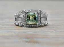 925 Sterling Silver Ring with Green Tourmaline Natural Gemstone Handcrafted eBay