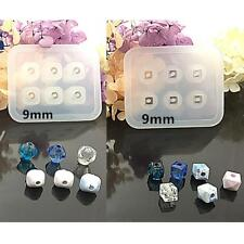 2pcs DIY Silicone Bead Mold Square Shaped Handmade Jewelry Making Hand Craft