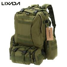 Military Backpack Vintage Tactical Molle Camouflage Outdoor Water Resistant Bag