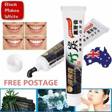 Pro 100g Bamboo Charcoal All-Purpose Teeth Whitening Clean Black Toothpaste S1