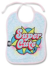 Six Bunnies Super Cute Girls Baby Bib Alternative Superhero Pop Rockabilly Gift