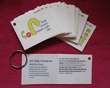 AKC Rally Obedience Practice Flash Cards  - ADD ON PACK - new I & M Class Only