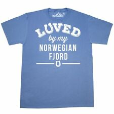 Inktastic Norwegian Fjord Horse Lover Gift Idea T-Shirt Horses Animals Owner By