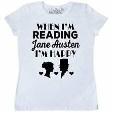 Inktastic Jane Austen Fan Darcy And Elizabeth Women's T-Shirt Mr Pride Prejudice