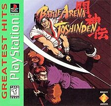 Battle Arena Toshinden - PS1 PS2 Complete Playstation Game