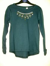 BNWT Blue Zoo -Jewel Long Sleeve Top - 2 colours - Blue/ White.  Age 4-8 Years