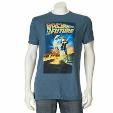 Officially Licensed Marty Mcfly Movie Back To The Future Poster Tee New T Shirt