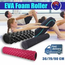 Fitness EVA Yoga Foam Roller Home Exercise Gym Pilates Physiotherapy Massage WE