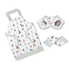 Wrendale Designs Country Animal Oven Glove, Apron, Tea Cosy, Tea Towel