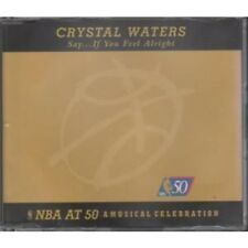 CRYSTAL WATERS Say...If You Feel Alright CD UK Mercury 1997 7 Track Featuring