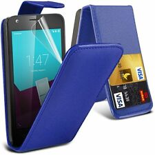 Premium Quality PU Leather Flip Case Cover For HTC Sensation XE/G18 Phone