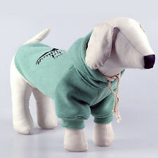 Warm Pet Dog Puppy Clothes Coat Hoodie Sweater Costumes Dogs Jackets S-XXL