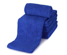 Small Microfiber Absorbent Towel Washing Clean Wash 30*30cm Auto Wash Cloth Blue