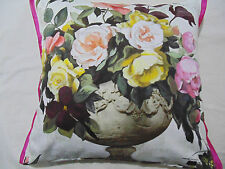 Designers Guild Fabric 100% Cotton Fabric Cushion Cover Rugosa Rose