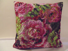 Designers Guild Fabric Forsyth Magenta 50 x 50 cm Cushion Cover