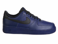 NEW MENS NIKE AIR FORCE 1 LOW BASKETBALL SHOES TRAINERS BINARY BLUE / BLACK